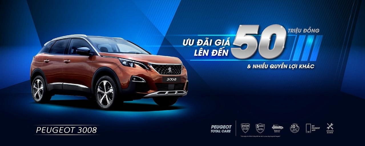 Peugeot ưu đãi giá đặc biệt lên đến 50 triệu trong tháng 9 | Peugeot Giải Phóng | 0938900725