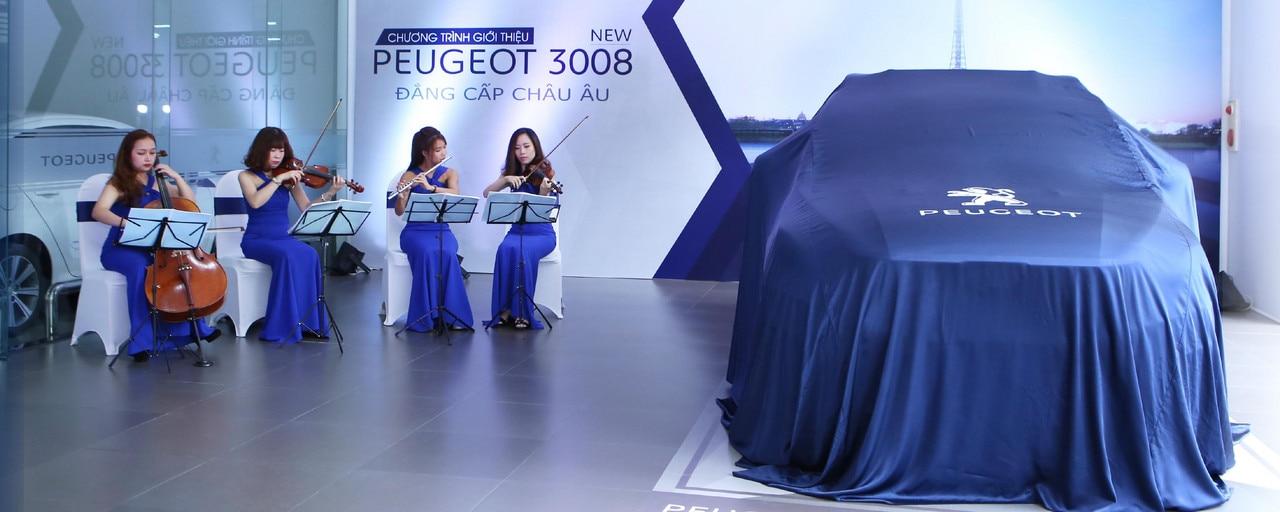 Ra mat Peugeot 3008 moi